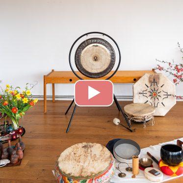 Sabine Rittner Video klanggeleitete Trancereise