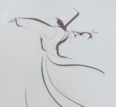 der tanzende Derwisch